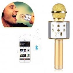 http://www.999shopbd.com/Wireless Mini Portable WS-858 Karaoke Microphone